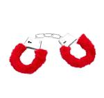 Metall-Handschellen mit Plusch
